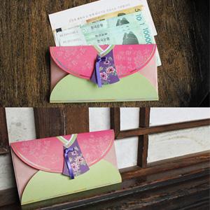 전통봉투분홍 새색시한복